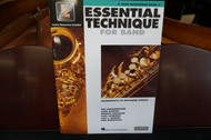 Essential Technique For Band E Flat Alto Saxophone Book 3