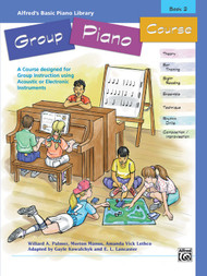 Alfred's Basic Piano Library Group Piano Course Book 2