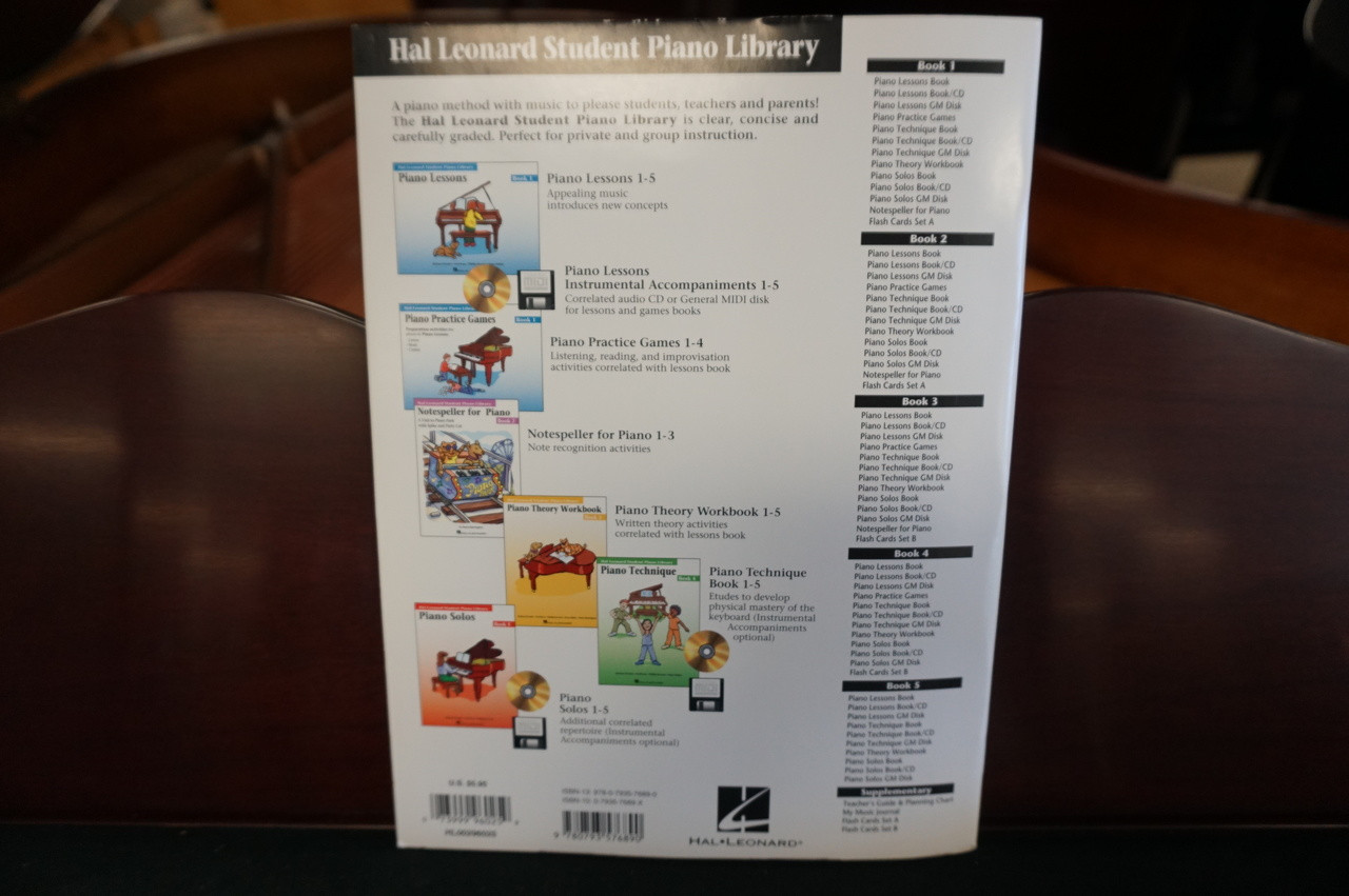 Hal Leonard Student Piano Library Piano Theory Workbook Book 3