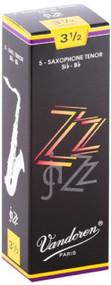 Vandoren ZZ Jazz Tenor Saxophone Reeds, Strength 3.5, 5 Pack