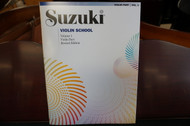 Suzuki Violin School Violin Part Volume 1 Revised Edition (Book only)