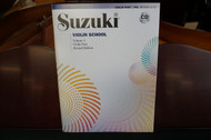 Suzuki Violin School Violin Part Volume 3 (Revised Edition) Book & CD
