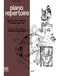 Piano Repertoire David Carr Glover Piano Library Level Five