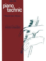 Piano Technic David Carr Glover Piano Library Level Five