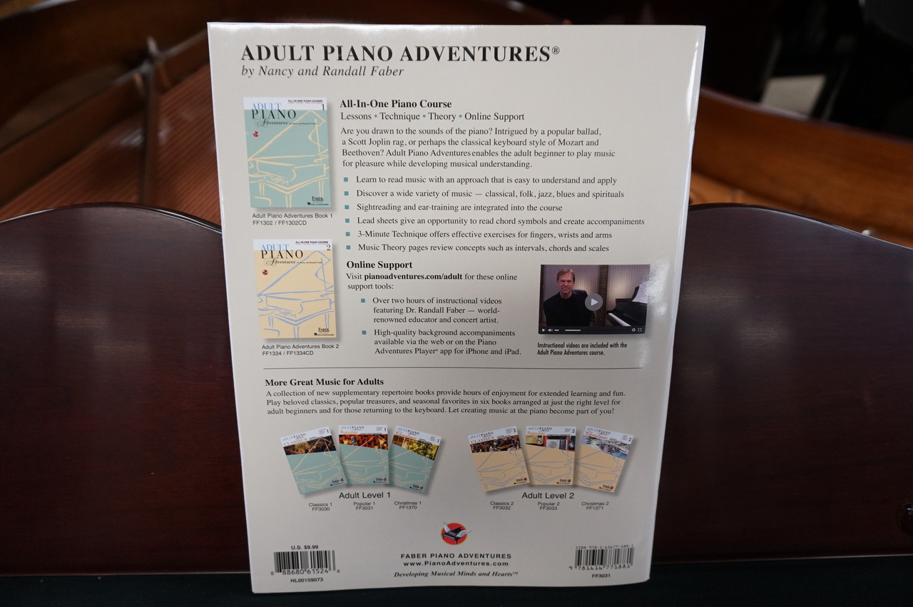 Adult Piano Adventures Popular Book At Piano Gallery