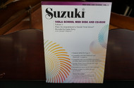 Suzuki Viola School Midi Disk And CD-Rom Volume 1
