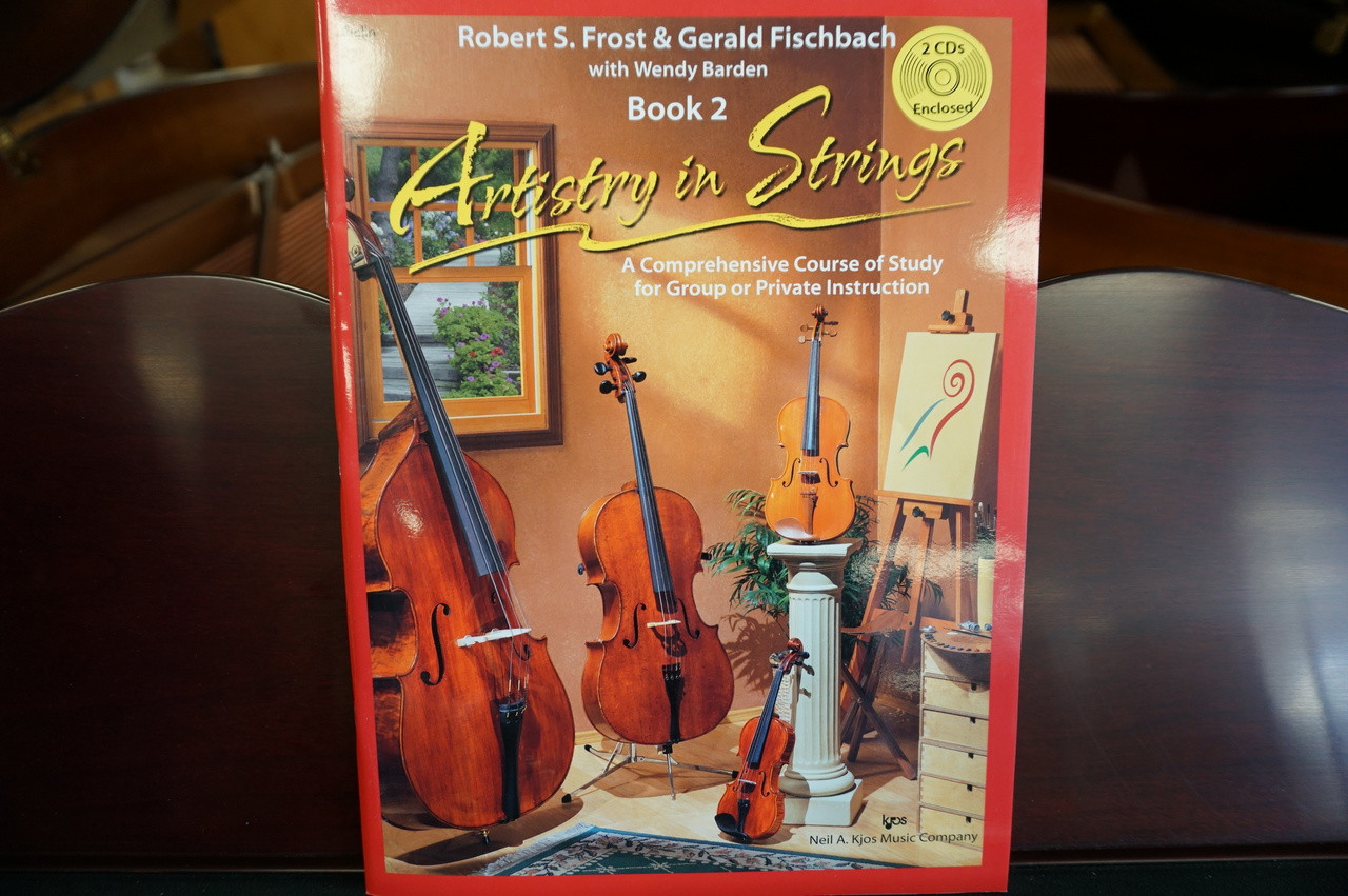 Artistry in Strings Violin Book 2 W/CD