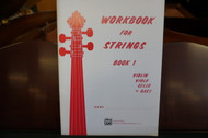 Workbook For Strings Book 1 Bass