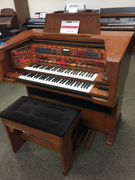Lowrey Celebration LX500  with Deluxe Bench - SOLD!
