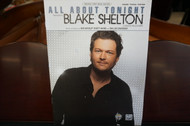 All About Tonight by Blake Shelton Piano/Vocal/Guitar