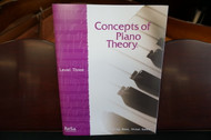 Concepts of Piano Theory Level Three