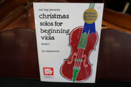 Christmas Solos for Beginning Viola Level 1
