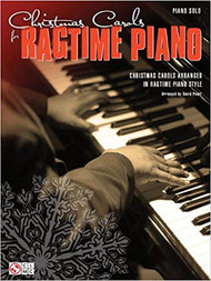Christmas Carals for Ragtime Piano- Piano Solo