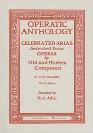 Operatic Anthology - Volume 5: Bass and Piano