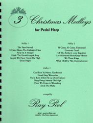 3 Christmas Medleys for Pedal Harp