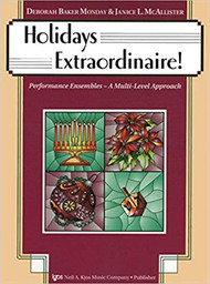 Holidays Extraordinaire! - Violin Sheet music