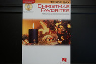 Christmas Favorites (Tenor Saxophone) Book and CD