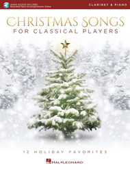 Christmas Songs for Classical Players- Clarinet & Piano