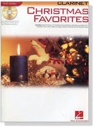Christmas Favorites Clarinet PLAY-ALONG