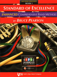 Standard of Excellence Enhanced Book 1(Second Edition) -Eb Baritone Saxophone