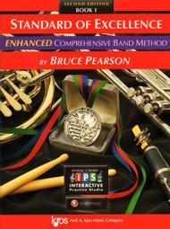 Standard of Excellence Enhanced Book 1 (Second Edition) -Eb Alto Saxophone