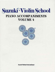 Suzuki Violin School Piano Accompaniments Volume 4