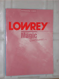 Lowrey Magic continues Songbook Eight
