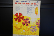 Most Popular Tunes You Like To Play Volume 3B