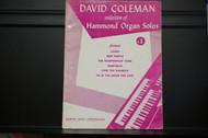 Used Vintage book- Hammond Organ Solos #1