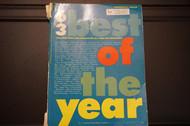 Used Vintage Book- 63 Best of the Year-Intermediate Organ