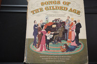 Used Vintage Book- Songs of the Gilded Age
