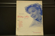 Used Vintage Book- Wedding Music  for Piano