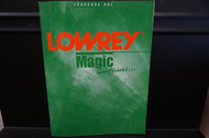 Lowrey Magic Continues Songbook One