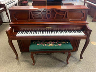 Used Remington RV43F Upright Piano with Bench