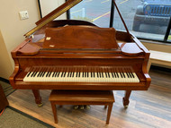 Used Samick SG185 WP Grand Piano with Bench