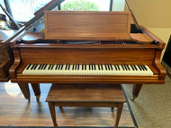 "Used Baldwin C 6'3"" Sapele Mahogany Grand with Bench"