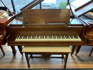 Used Ivers & Pond Grand Piano with Padded Matching Bench