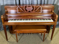 Used Sohmer & Co Console Piano with Bench - SOLD