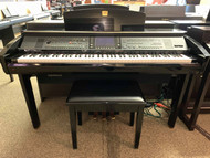 Used Yamaha Clavinova CVP309 Ebony Polish with Bench