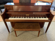 "Used Mason & Hamlin ""H"" 42"" Console Piano with Bench - SOLD"