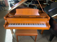 Used Samick SG-155 Baby Grand Piano with Bench