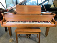 Used Chickering Baby Grand Piano with Bench