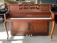 Kohler & Campbell KC-647F Cherry Satin Piano with Bench