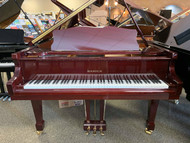 "Samick SIG-57 Mahogany Polish 5'7"" Grand Piano with Bench - SOLD"