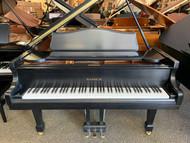 """Samick SIG-57 Ebony Satin 5'7"""" Grand Piano with Bench"""