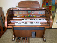 Lowrey Legacy SU300 Walnut Organ/Adult Keyboard