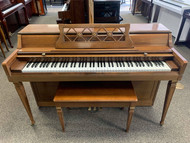 Used Wurlitzer Upright Piano with Bench - SOLD