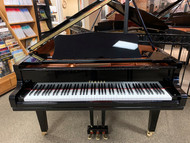 "Yamaha GC1 Grand Piano 5'3"" Polished Ebony with Bench"