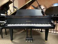 """Kawai GX1BLK Baby Grand Piano 5'5"""" Satin Ebony with Bench"""