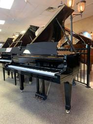 """Sherman Clay Ebony Polish 5'1"""" Grand Piano with Bench"""